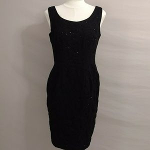 Classic Black Evening Dress 12 Carmen Marc Valvo